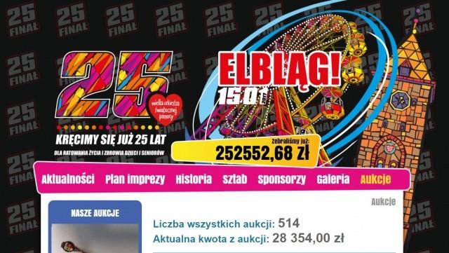 Zebraliśmy w Elblągu 252 552,68 zł!