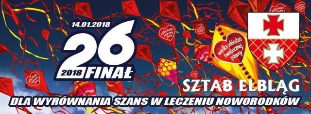 26 Finał WOŚP w Elblągu - Elbląg zagra z orkiestrą! Zarejest