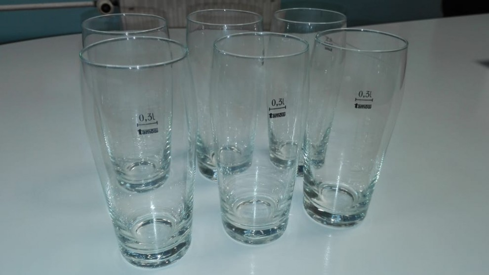 Komplet szklanek do napojów poj. 0,3 l