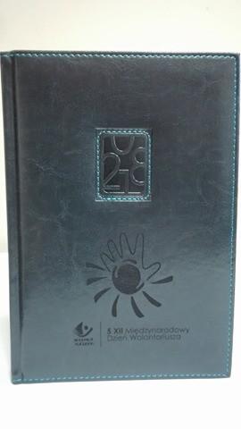 Kalendarz książkowy, granatowy