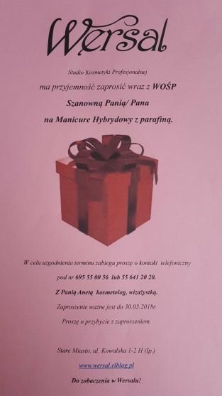Manicure Hybrydowy z parafiną o wartości 80 zł