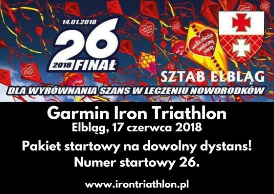 Garmin Iron Triathlon 2018 - Pakiet startowy