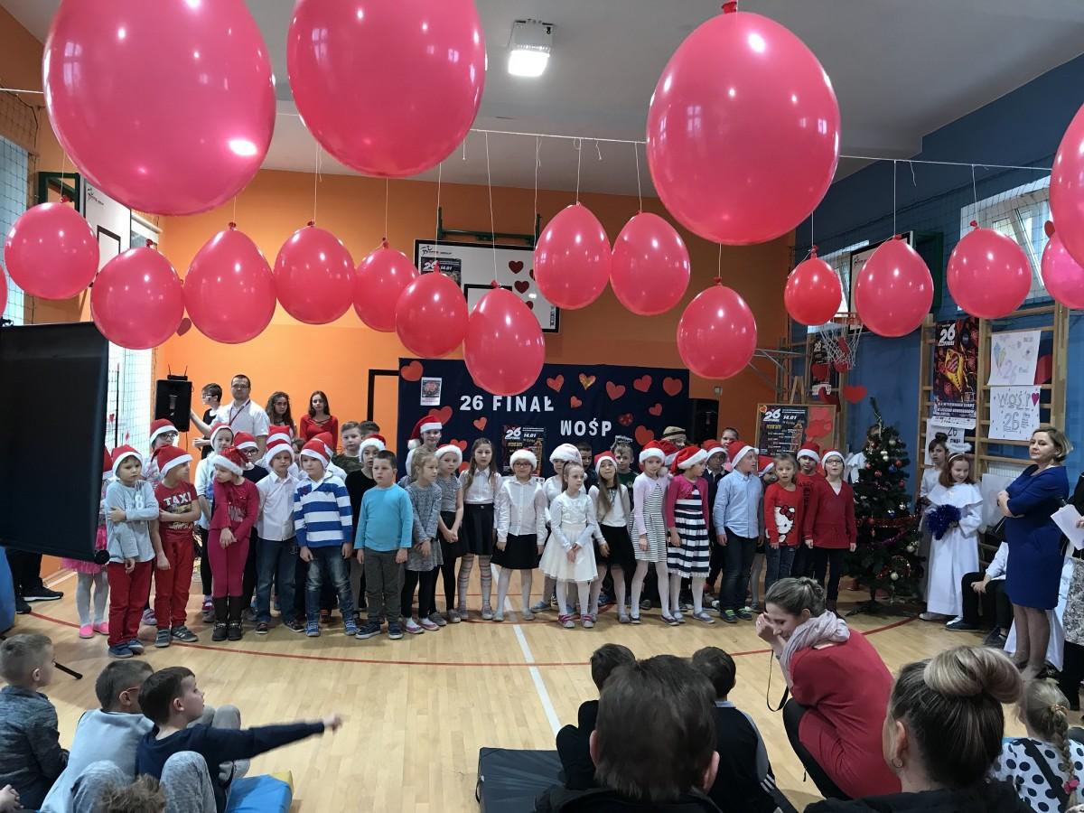 Wielka Orkiestra Świątecznej Pomocy zagrała w Szkole Podstaw