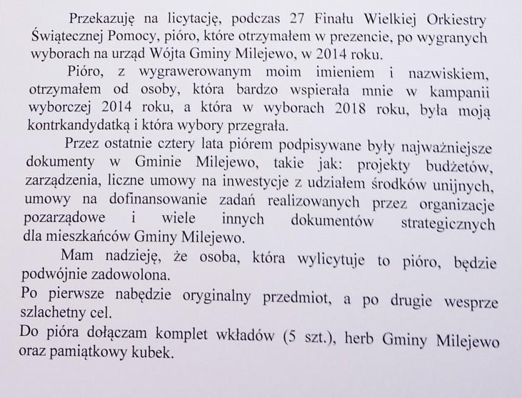 """Zestaw Pióro Parker z grawerem """"Krzysztof Szumała"""""""