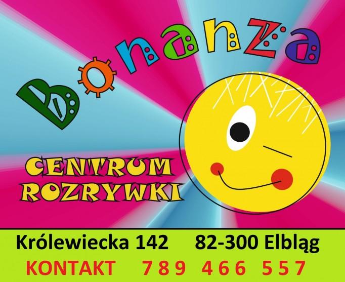 Karta wstępu do Centrum Rozrywki BONANZA w Elblągu
