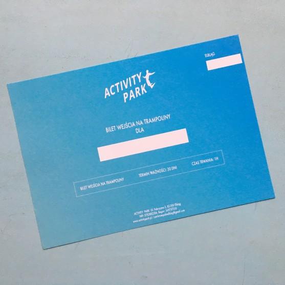 Bilet wejścia na trampoliny ACTIVITY Park