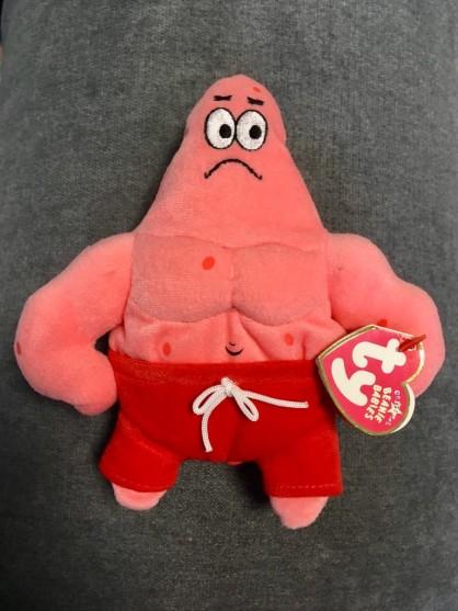 """Maskotka """"TY"""", Sponge Bob- wysokość15 cm"""