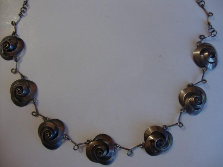 Komplet biżuterii naszyjnik i kolczyk
