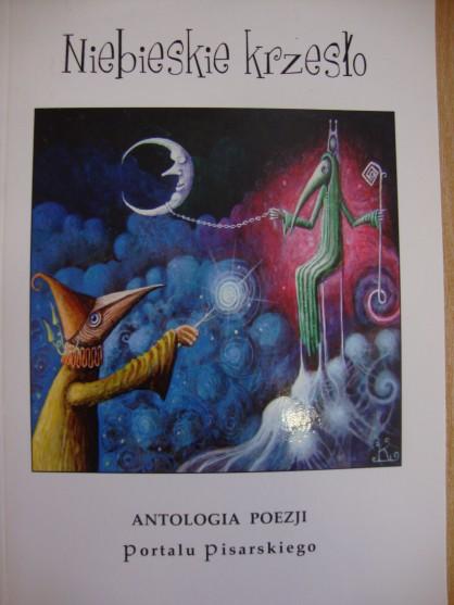 """Książka """"Niebieskie krzesło"""" Antologia poezji Port"""