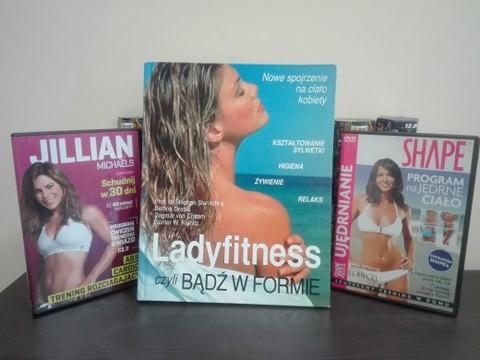 Zestaw: Książka Ladyfitness, płyta DVD- Schudnij w 30 dni, P