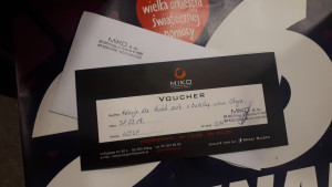 Voucher do MIKO SUSHI