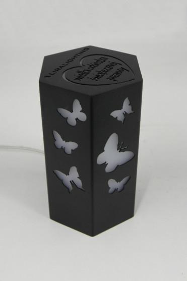 Lampka wyprodukowana specjalnie na potrzeby WOŚP. Zasilana e